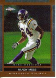 2003 Topps Draft Picks and Prospects Chrome #35 Randy Moss