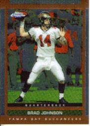 2003 Topps Draft Picks and Prospects Chrome #43 Brad Johnson
