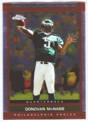 2003 Topps Draft Picks and Prospects Chrome #45 Donovan McNabb