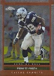 2003 Topps Draft Picks and Prospects Chrome #49 Emmitt Smith