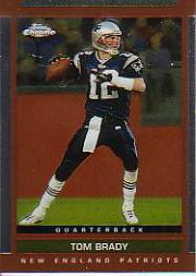2003 Topps Draft Picks and Prospects Chrome #55 Tom Brady