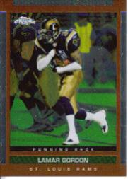 2003 Topps Draft Picks and Prospects Chrome #89 Lamar Gordon