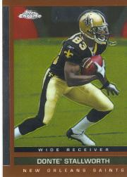 2003 Topps Draft Picks and Prospects Chrome #91 Donte Stallworth