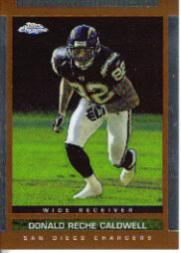 2003 Topps Draft Picks and Prospects Chrome #101 Reche Caldwell