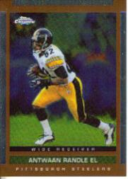 2003 Topps Draft Picks and Prospects Chrome #109 Antwaan Randle El