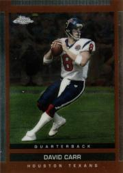 2003 Topps Draft Picks and Prospects Chrome #110 David Carr
