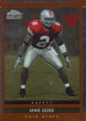 2003 Topps Draft Picks and Prospects Chrome #128 Mike Doss