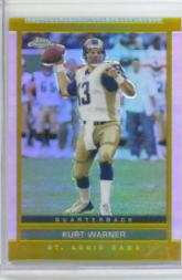 2003 Topps Draft Picks and Prospects Chrome Gold Refractors #18 Kurt Warner