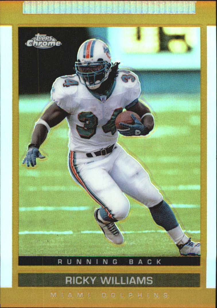 2003 Topps Draft Picks and Prospects Chrome Gold Refractors #30 Ricky Williams