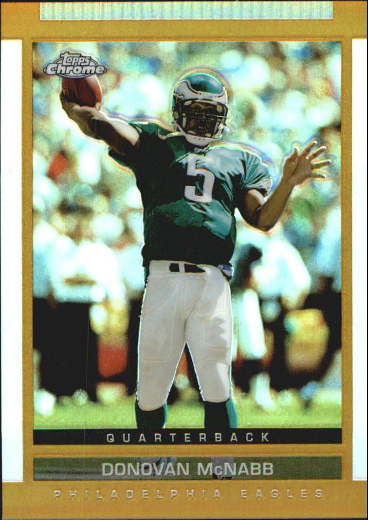 2003 Topps Draft Picks and Prospects Chrome Gold Refractors #45 Donovan McNabb