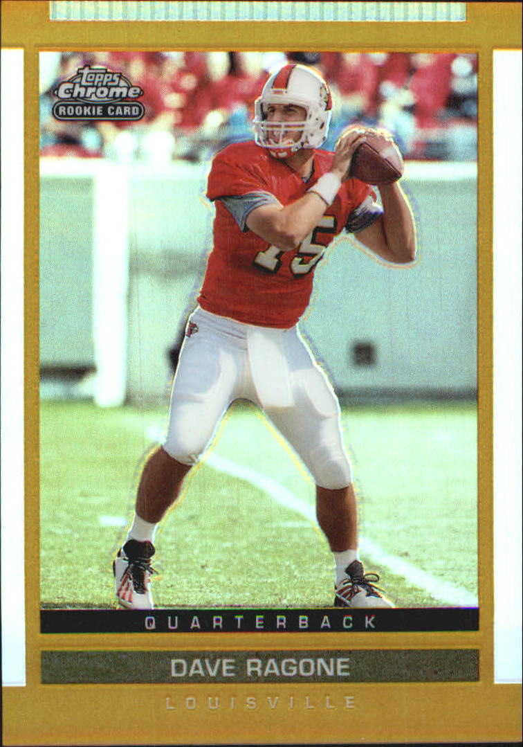 2003 Topps Draft Picks and Prospects Chrome Gold Refractors #145 Dave Ragone