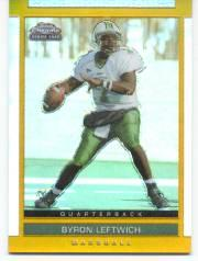 2003 Topps Draft Picks and Prospects Chrome Gold Refractors #150 Byron Leftwich