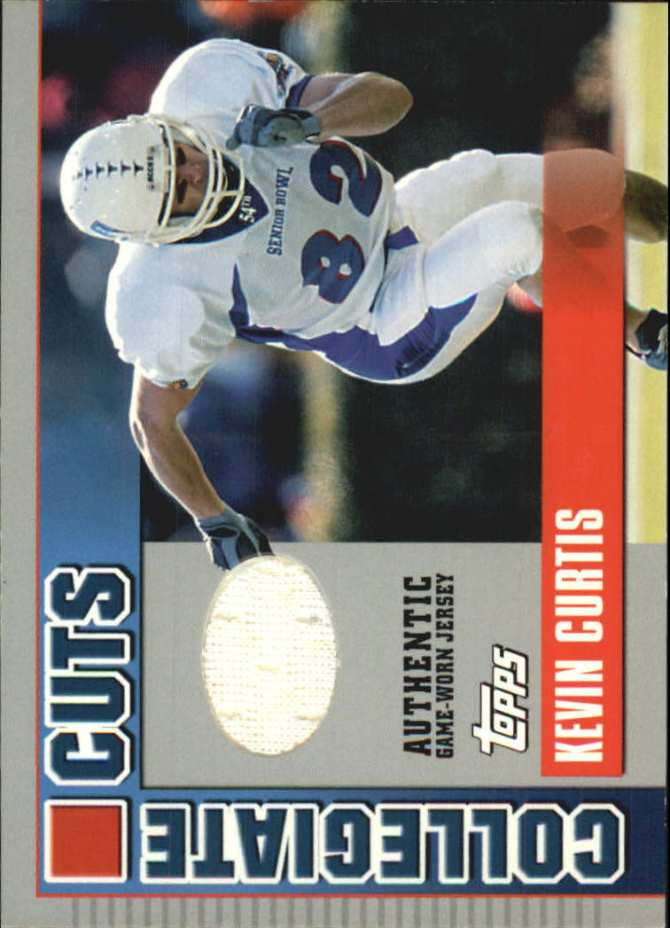 2003 Topps Draft Picks and Prospects Collegiate Cuts #CCKC Kevin Curtis F