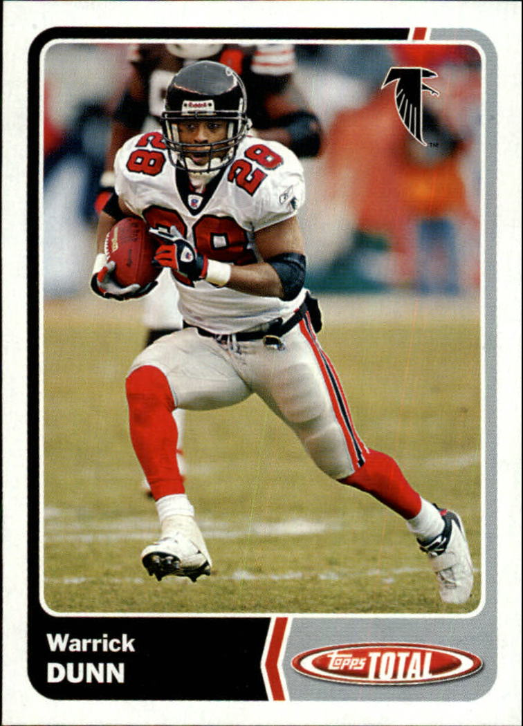 2003 Topps Total #34 Warrick Dunn