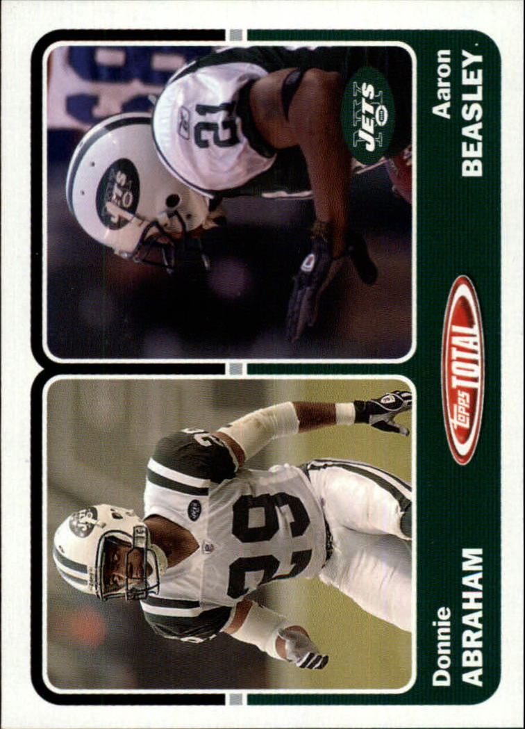 2003 Topps Total #416 Aaron Beasley/Donnie Abraham