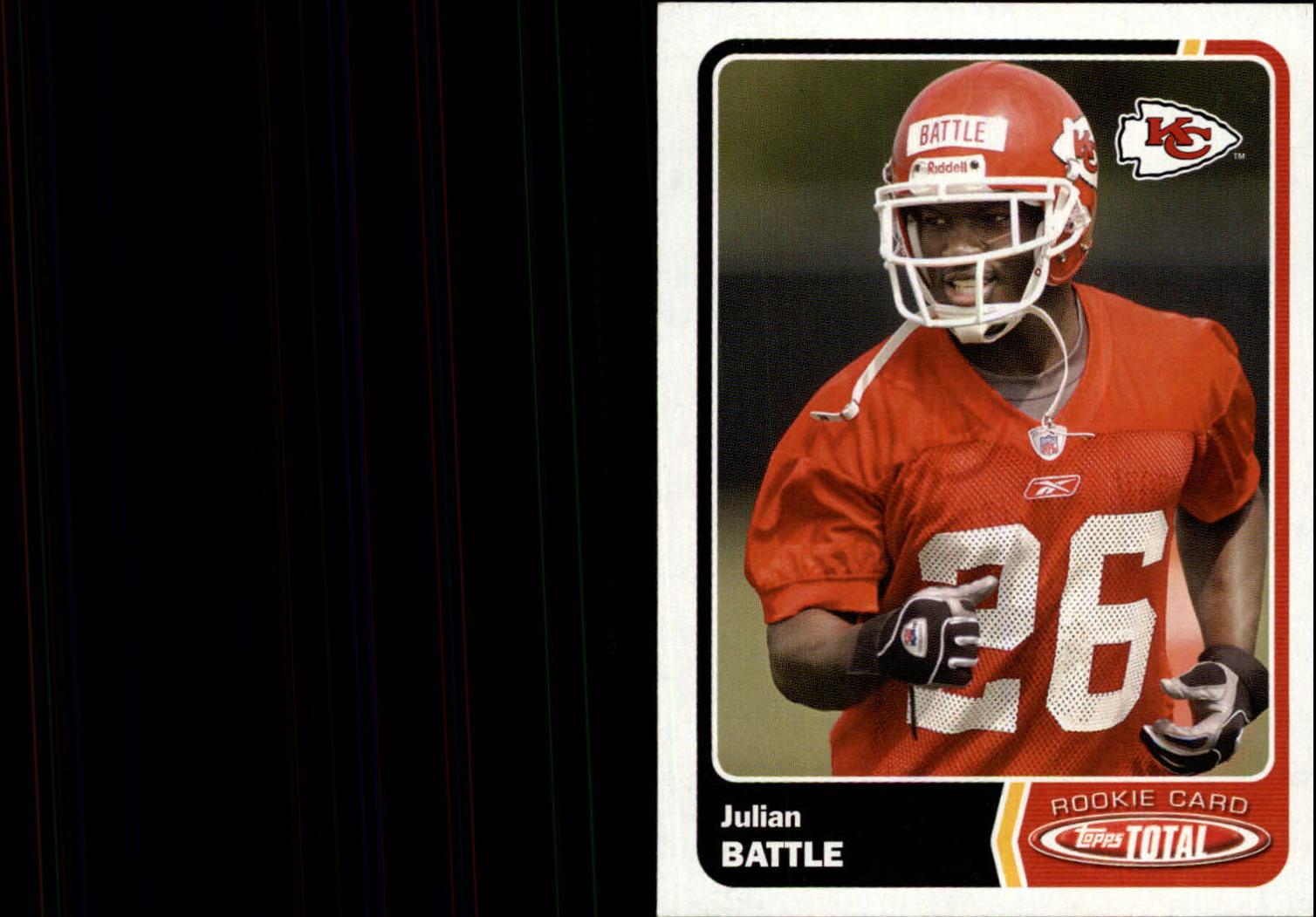 2003 Topps Total #483 Julian Battle RC front image