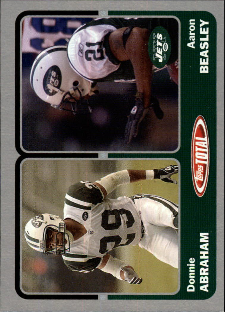 2003 Topps Total Silver #416 Aaron Beasley/Donnie Abraham