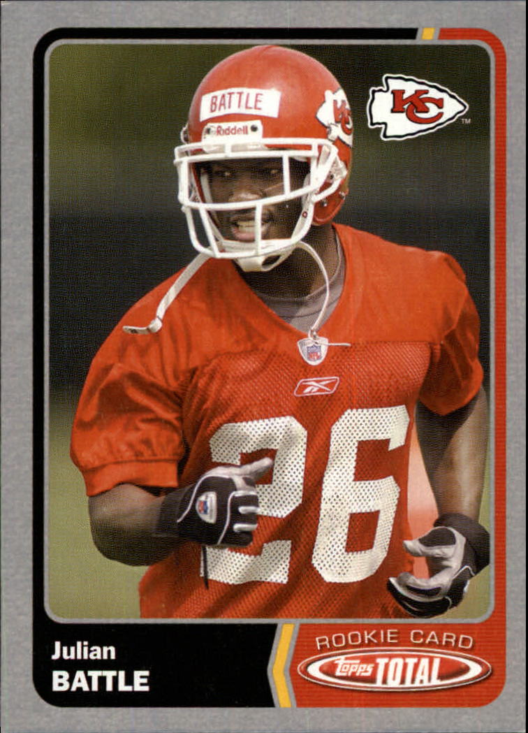 2003 Topps Total Silver #483 Julian Battle