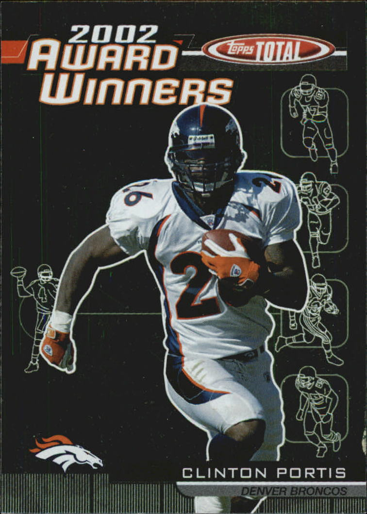 2003 Topps Total Award Winners #AW3 Clinton Portis