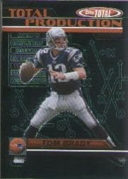 2003 Topps Total Total Production #TP1 Tom Brady