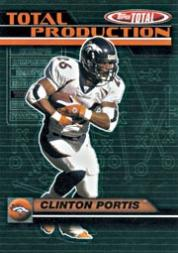 2003 Topps Total Total Production #TP7 Clinton Portis