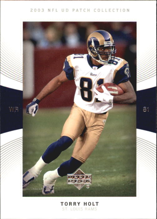 2003 UD Patch Collection #60 Torry Holt