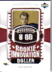 2003 UD Patch Collection #121 Kyle Boller RI RC