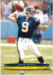 2003 Ultra #152 Drew Brees