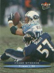 2003 Ultra #160 Frank Wycheck