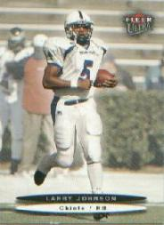 2003 Ultra #169 Larry Johnson RC front image