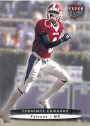 2003 Ultra #198 Terrence Edwards RC