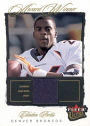 2003 Ultra Award Winners Memorabilia #AWCP Clinton Portis