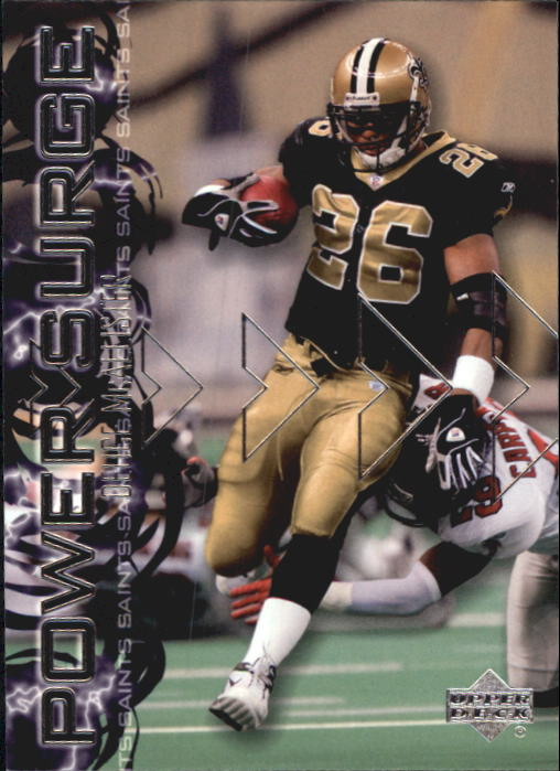 2003 Upper Deck Power Surge #PS5 Deuce McAllister