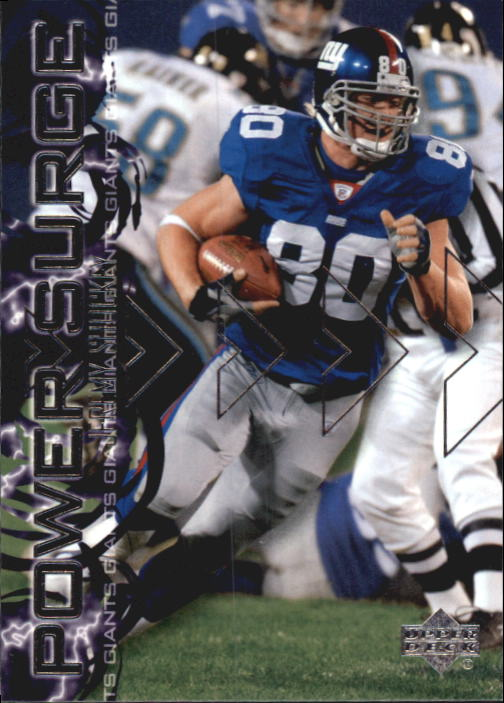 2003 Upper Deck Power Surge #PS8 Jeremy Shockey