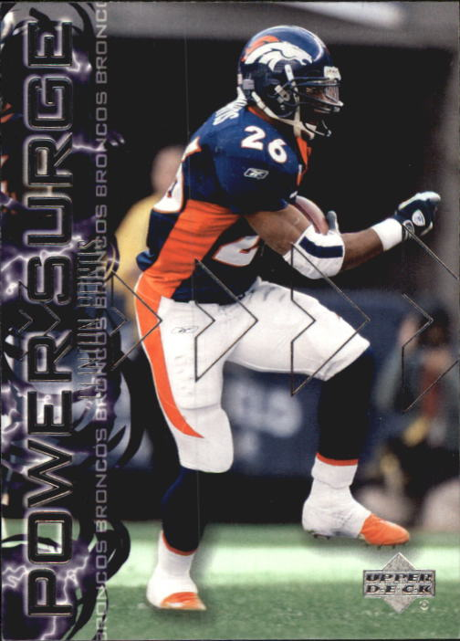 2003 Upper Deck Power Surge #PS16 Clinton Portis