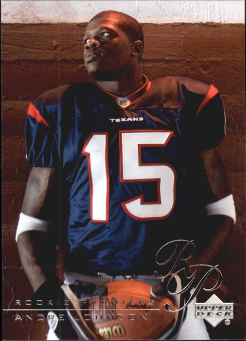 2003 Upper Deck Rookie Premiere #RP18 Andre Johnson