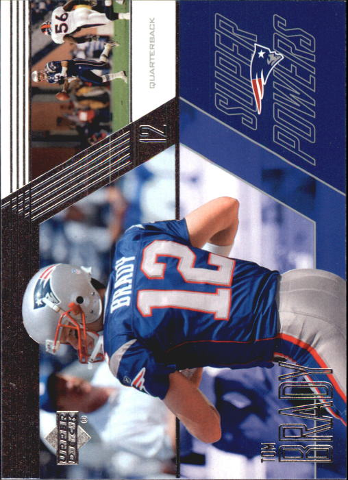 2003 Upper Deck Super Powers #SP12 Tom Brady