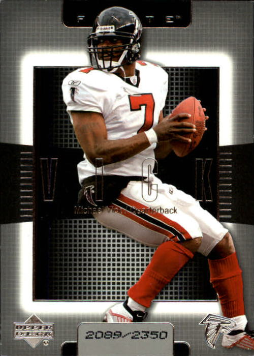 2003 Upper Deck Finite #7 Michael Vick