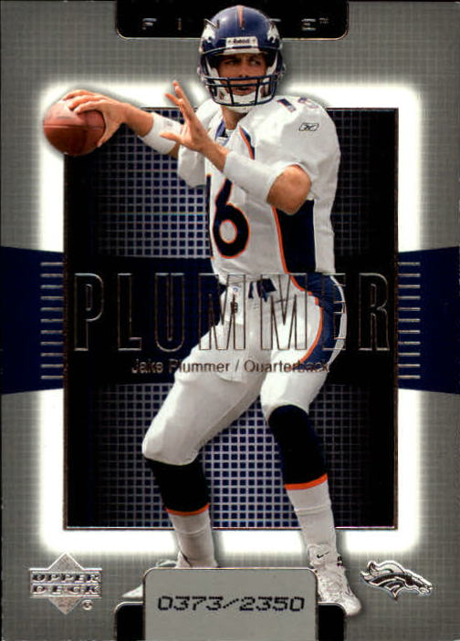 2003 Upper Deck Finite #16 Jake Plummer