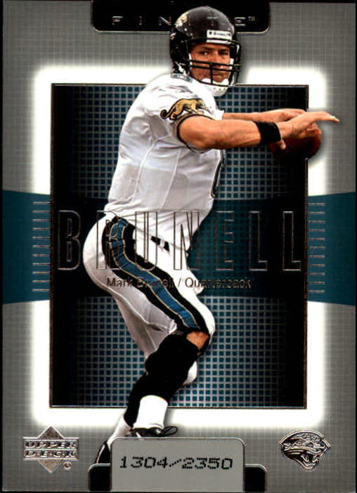 2003 Upper Deck Finite #18 Mark Brunell