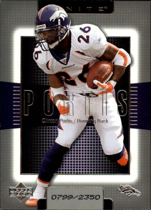 2003 Upper Deck Finite #26 Clinton Portis