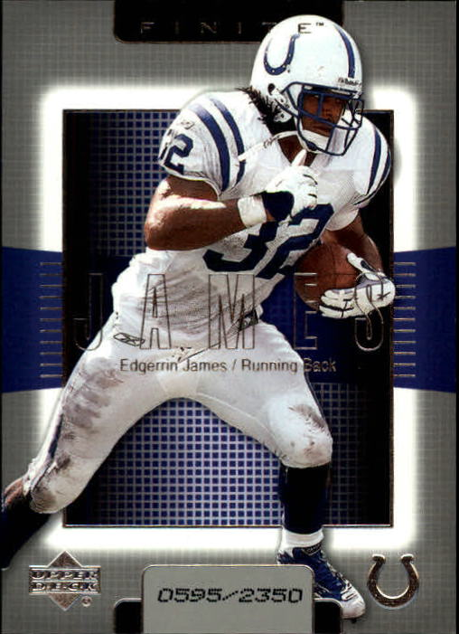 2003 Upper Deck Finite #32 Edgerrin James