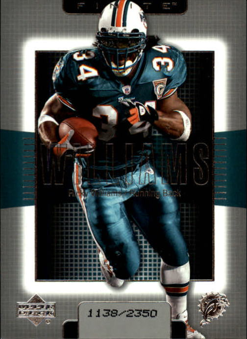 2003 Upper Deck Finite #34 Ricky Williams