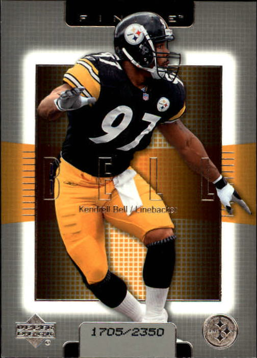 2003 Upper Deck Finite #47 Kendrell Bell