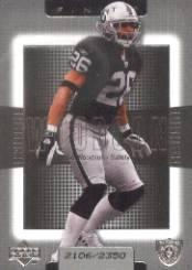 2003 Upper Deck Finite #53 Rod Woodson