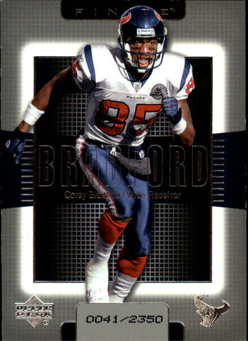 2003 Upper Deck Finite #78 Corey Bradford