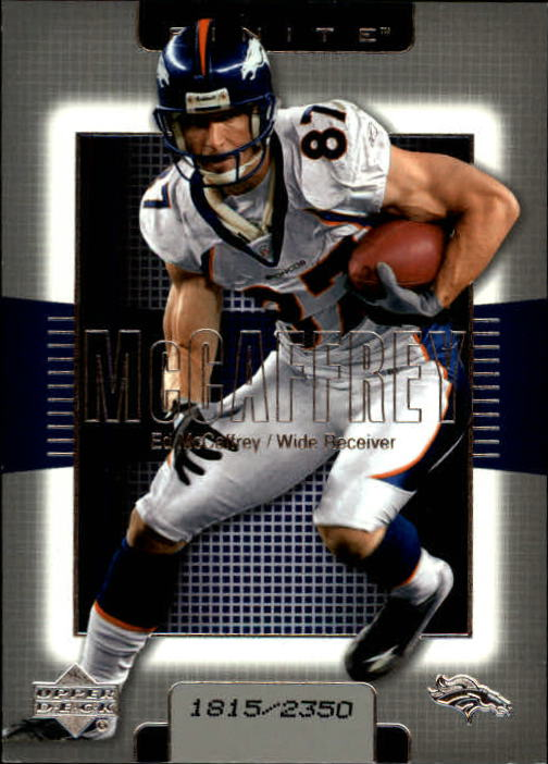 2003 Upper Deck Finite #83 Ed McCaffrey