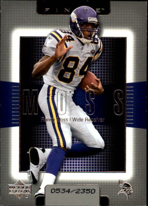 2003 Upper Deck Finite #84 Randy Moss