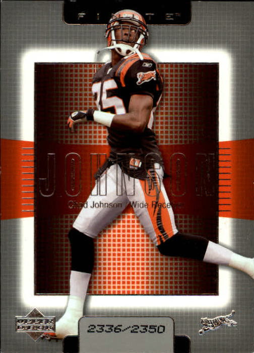 2003 Upper Deck Finite #85 Chad Johnson