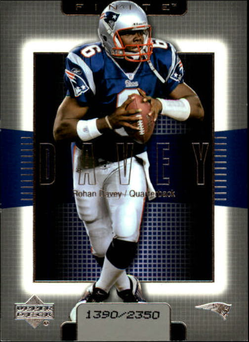 2003 Upper Deck Finite #92 Rohan Davey
